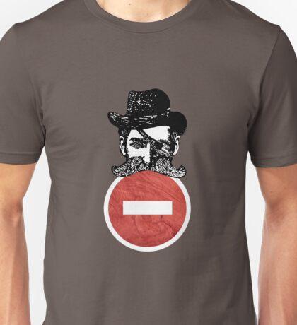 No Entry Cowboy! Unisex T-Shirt
