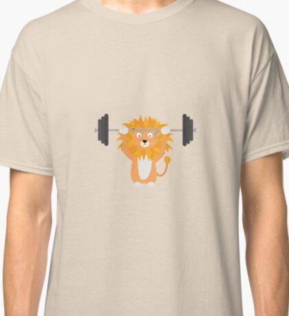Weight lifting lion Classic T-Shirt