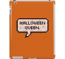 Halloween Queen. iPad Case/Skin