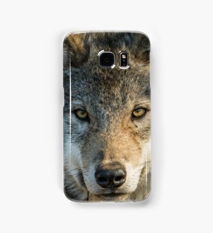 Timber Wolf - Looking at you. Samsung Galaxy Case/Skin