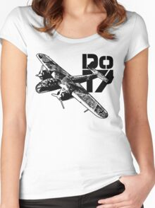 Do 17 Women's Fitted Scoop T-Shirt