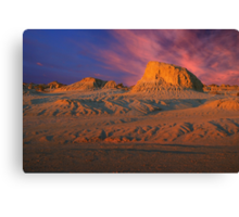 Colours of Mungo Canvas Print