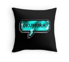 Rin Okumura Throw Pillow