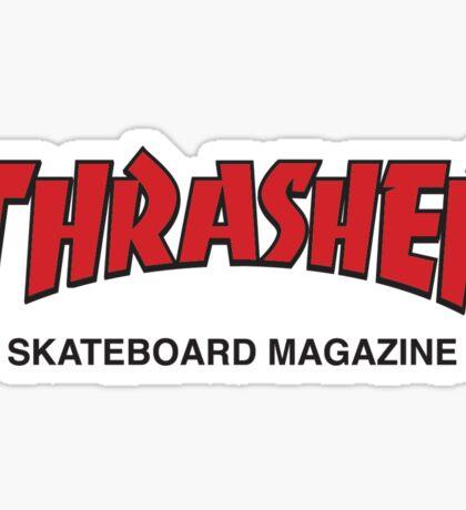 Thrasher Skateboard Magazine Sticker