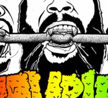 FLATBUSH ZOMBIES BONE EATER Sticker