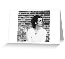 Matty Healy Greeting Card