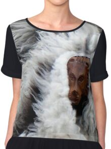 Lion in sheep's clothing Chiffon Top