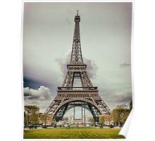 Tour Eiffel in Paris Poster