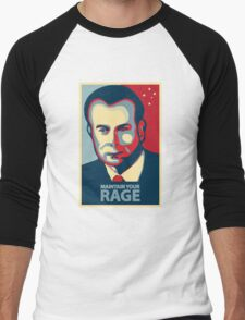 Gough Whitlam - Maintain Your Rage Men's Baseball ¾ T-Shirt