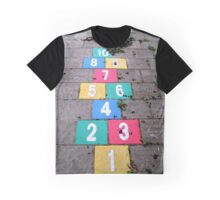 Hopscotch game Graphic T-Shirt
