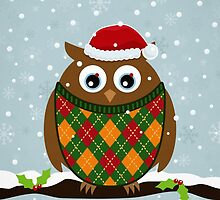 Christmas Owl by Matthew Andrews