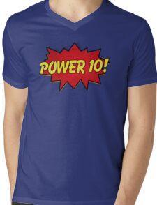 Superheroes of Rowing - Power 10! Mens V-Neck T-Shirt