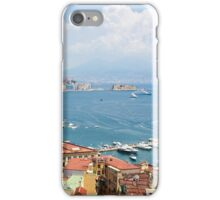 Panoramic view of Naples from Posillipo iPhone Case/Skin