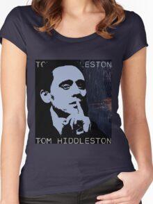 Tom Hiddleston Women's Fitted Scoop T-Shirt