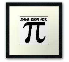 Pi day humor Framed Print