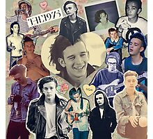 The 1975- Matty Healy collage Photographic Print