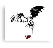 'Toothless Take Flight' Canvas Print