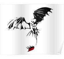 'Toothless Take Flight' Poster