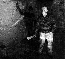 Jason in his Barn by John Gaffen