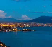 Naples by Night by Antonio Gravante