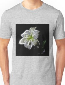 White lily  Unisex T-Shirt