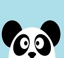 Panda Duvet by ArtfulDoodler