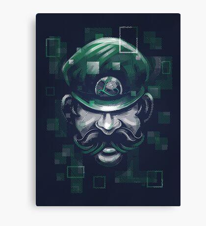 Depixelization L Canvas Print