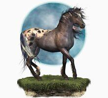 Storm .. an appaloosa stallion Womens Fitted T-Shirt