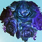 Blues Bouquet by Monnie Ryan