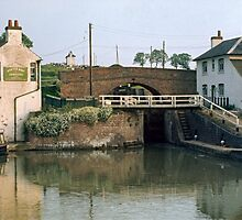 Foxton Locks 1969, UK. by David A. L. Davies
