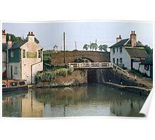 Foxton Locks 1969, UK. Poster