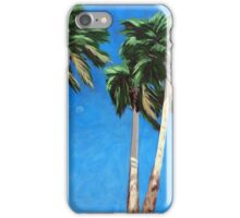 Daytime Moon - Palm Springs landscape  iPhone Case/Skin