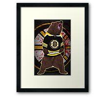 Don't Poke the Bear Framed Print