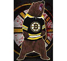 Don't Poke the Bear Photographic Print