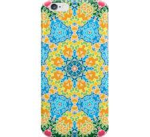 Psychedelic jungle kaleidoscope ornament 22 iPhone Case/Skin