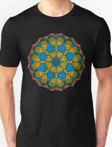 Psychedelic jungle kaleidoscope ornament 22 T-Shirt
