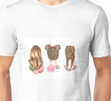 Hairstyles- color Unisex T-Shirt