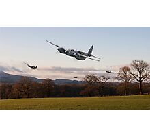 D H Mosquito - Intruder Ops Photographic Print