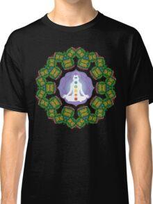Psychedelic jungle kaleidoscope ornament 23 Classic T-Shirt