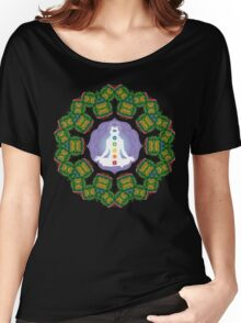 Psychedelic jungle kaleidoscope ornament 23 Women's Relaxed Fit T-Shirt