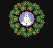 Psychedelic jungle kaleidoscope ornament 23 Unisex T-Shirt