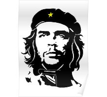 Che Guevara in star beret Poster