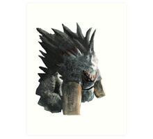 How to train your dragon - Alpha Art Print
