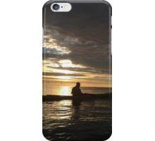 Sunrise kayak iPhone Case/Skin