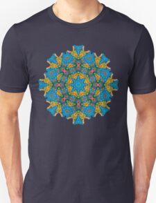 Psychedelic jungle kaleidoscope ornament 25 T-Shirt