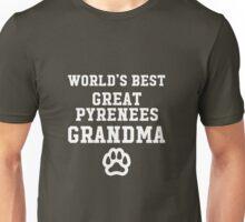 World's Best Great Pyrenees Grandma  Unisex T-Shirt