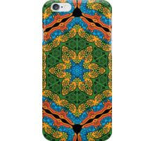 Psychedelic jungle kaleidoscope ornament 26 iPhone Case/Skin