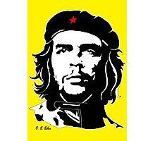 Che Guevara yellow background Photographic Print