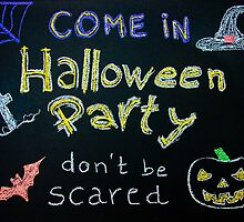 Halloween Party invitation by Stanciuc