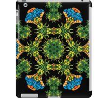 Psychedelic jungle kaleidoscope ornament 27 iPad Case/Skin